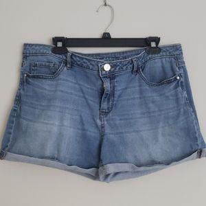 LC Lauren Conrad Denim Shorts, Size 16